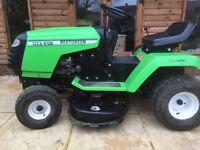 Best green ride on mower