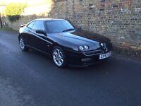 Alfa Romeo gtv t spark lusso 2003 long mot bi fuel petrol and gas