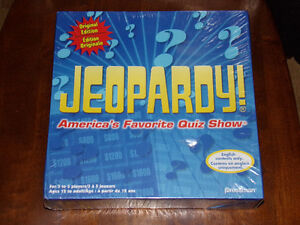 Jeopardy Quiz TV Show Board Game Pressman Toy NEW 2010