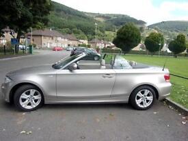 2009 BMW 1 SERIES 118I SE CONVERTIBLE PETROL