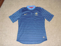 Like New FFF French soccer football Nike jersey authentic 2XL