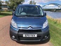 2011 11 CITROEN DISPATCH 2.0 COMBI SX L1H1 HDI 5D 118 BHP DIESEL