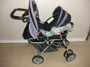 Graco Metrolite Travel stroller and car seat