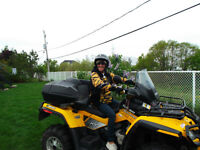 Can-am Outlander 650 Max (2 places)
