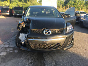 2010 Mazda CX-7 front accident