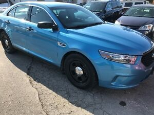 2013 Ford Taurus Sedan police interceptor
