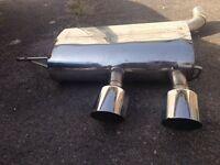 Golf R32 exhaust mk 5 VERY LOUD!!!!
