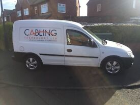 Vauxhall combo 1.3 diesel,excellent condition inside and out,£999.