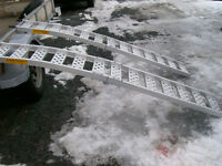 ALUMINUM ARCHED RAMPS