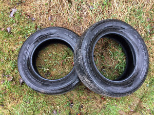 TIRES FOR SALE 185/60R14 4 tires  and 2 tires of 225/65R17
