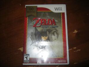 Video Game - Legend of Zelda Twilight Princess for Wii.