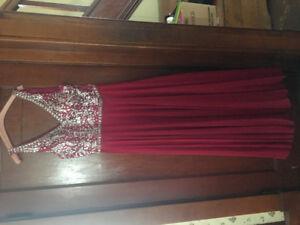 Red Prom dress - Size 12-14 XL