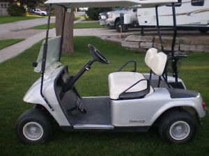 EZ GO GOLF CART Chipped and very quick