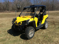 2013 CAN AM 1000 COMMANDER WITH EPS (FINANCING AVAILABLE)