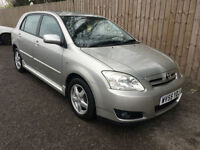 2005 55 Toyota Corolla 2.0 D-4D Colour Collection 115 BHP 58.9 MPG P/X