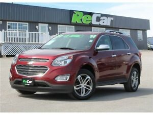 2017 Chevrolet Equinox Premier REDUCED | AWD | HEATED LEATHER...