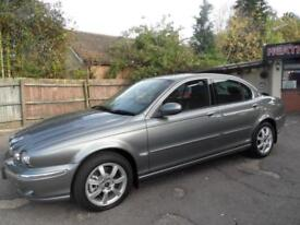 04 (54) JAGUAR X-TYPE 2.1 V6 SE. STUNNING VEHICLE, ONLY 41,652 MILES.