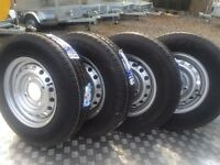 Ifor Williams trailer wheels for horse box Nugent Hudson Dale Kane trailers