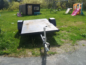 8 FT X 5 FT UTILITY TRAILER FACTORY MADE $600