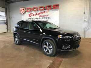 2019 Jeep New Cherokee Limited 4X4 / Heated & Cooled Leather
