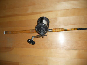 Tres grands moulinet/canne, pour Mer, Ton etc, Heavy rod reel