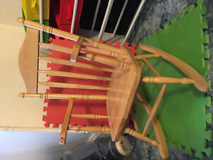 Kid sized rocking chair