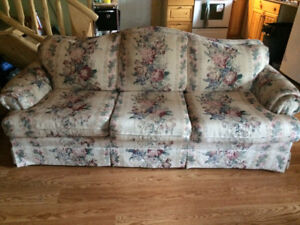 Couches from Country home, very good condition always had cover