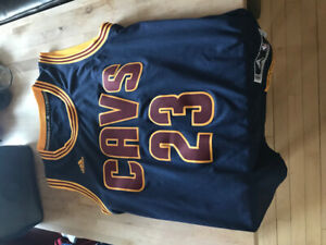 LeBron James Cleveland Cavaliers NBA Basketball Jersey