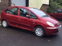 08 PLATE CITREON XSARA PICASSO (top spec desire model) EX COND RUNS PERFECT 55MPG cheap car may pX