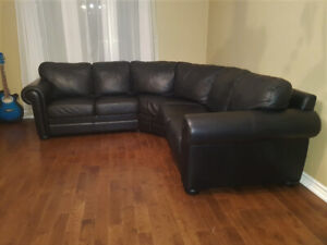 Admirable Leather Couch Buy And Sell Furniture In Belleville Beatyapartments Chair Design Images Beatyapartmentscom