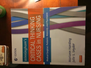 Critical thinking cases in nursing- paperback