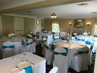 Chair Covers, Linens, & Decor for Weddings/Events