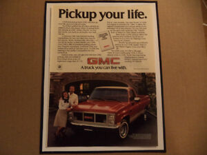 OLD PICKUP CLASSIC CAR ADS man cave Windsor Region Ontario image 7