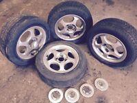 Mazda MX5 4x100 alloys