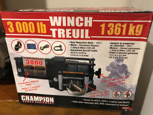 New in box! 3000 pound electric winch
