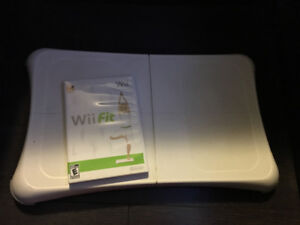 Wii Fit board and software