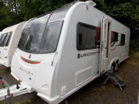 Bailey Unicorn Barcelona 2016 4 Berth Twin Axle Touring Caravan With Fixed Bed