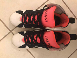 """USED SHOES FOR SALE-AIR JORDAN 7 GS """"HOT LAVA"""""""