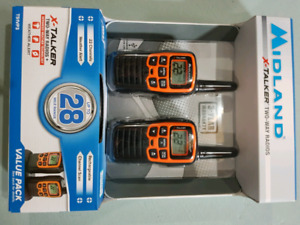 Brand new midway X-Talker two way radios