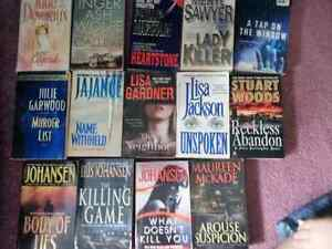 60 BOOKS  -  VARIETY OF AUTHORS - CHEAP