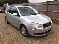 VW POLO 1.4 s 3DR 2005 IDEAL FIRST CAR CHEAP INSURANCE HPI CLEAR