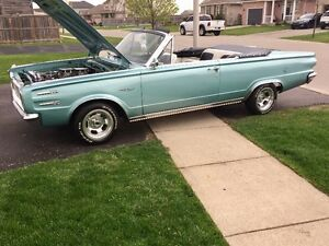 MINT RARE 1966 Plymouth Valiant Signet Convertable