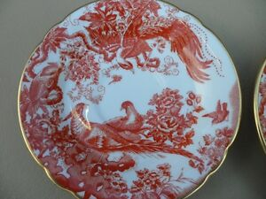 Royal Crown Derby Red Aves Plates $100 Each. Prince George British Columbia image 4
