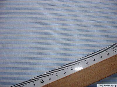 1 Lfm Jersey 2,90€/m²  längsgestreift  BW, Elasthan 165cm breit KD65