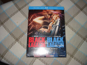 Black Lagoon - Seasons 1 & 2 Blu-ray/DVD Combo Pack (brand new)