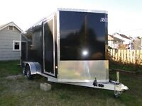 16ft Cargo Trailer. Lots of Extras. Used once.