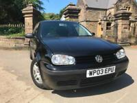 2003 (03) Volkswagen Golf 1.9TDI PD ( 130bhp ) 2003MY GT
