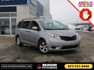 2013 Toyota Sienna 5dr V6 7-Pass FWD AUTO 3-ZONE A/C AUX/MP3 MAG