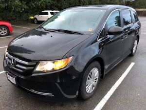 2014 HONDA ODYESSY PASSENGER VAN WITH LOW KMS