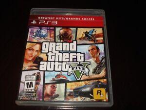 Jeux PS3, Grand Theft Auto 5.